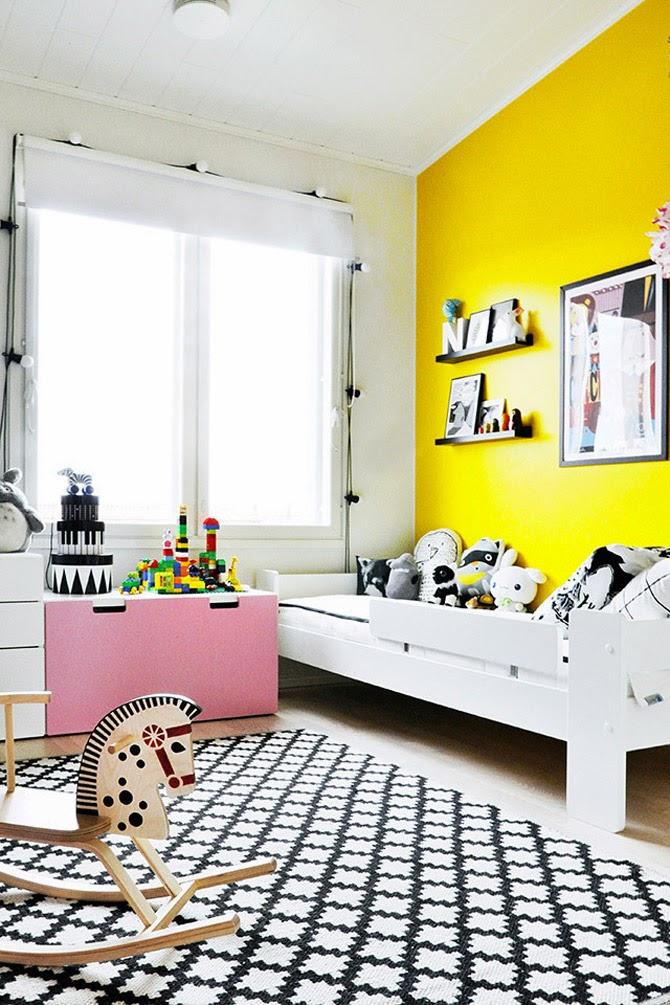 zolty pokoj dla dziecka2