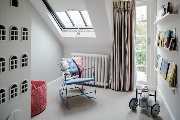 pokój niemowlaka, jasny pokój dziecka, projekt pokoju dziecka, pomysł na pokój niemowlaka