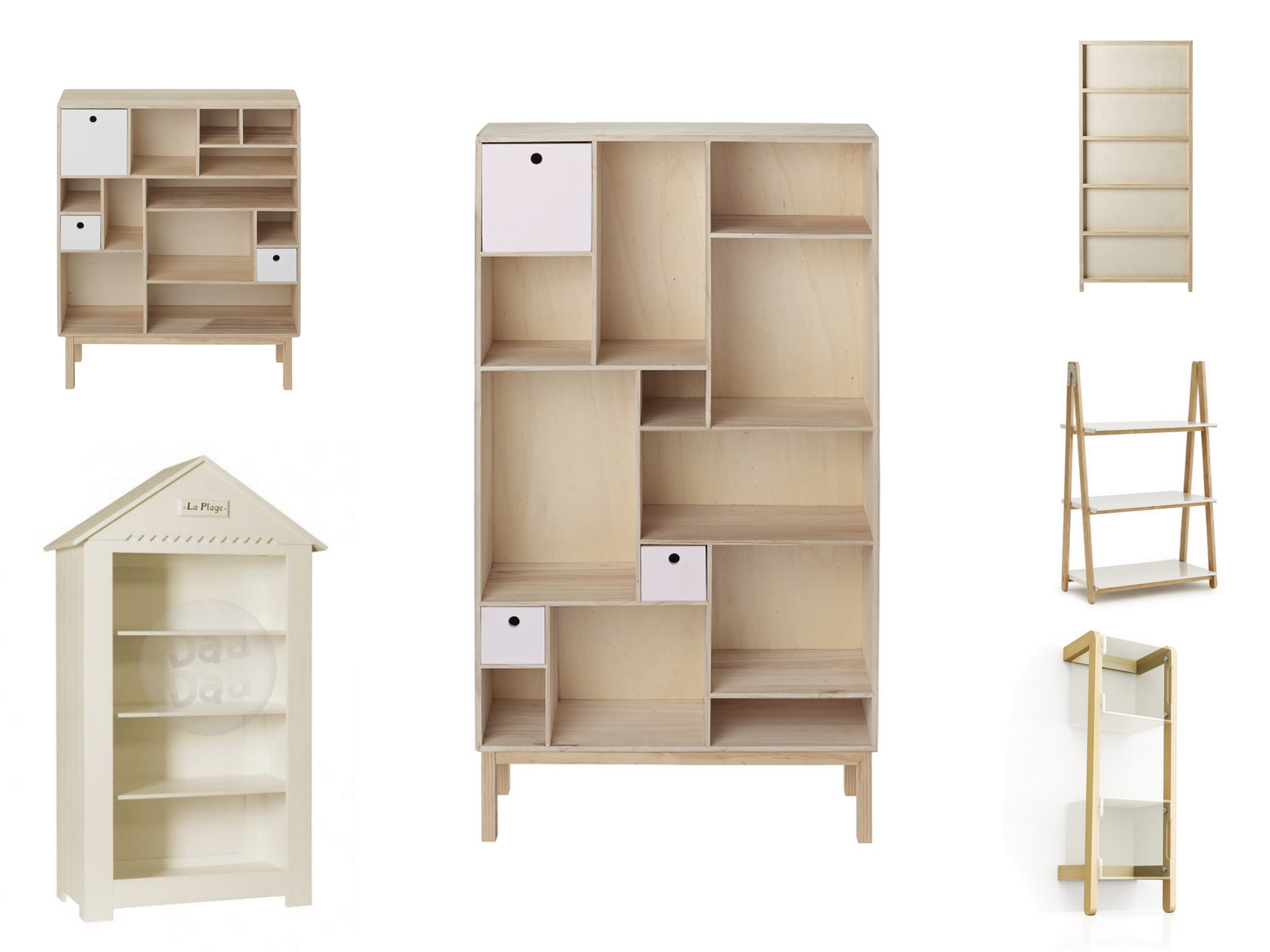 Dziecięca biblioteczka – półki i regały