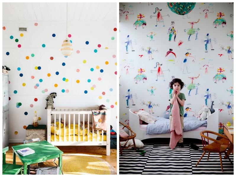 tapety do pokoju dziecka