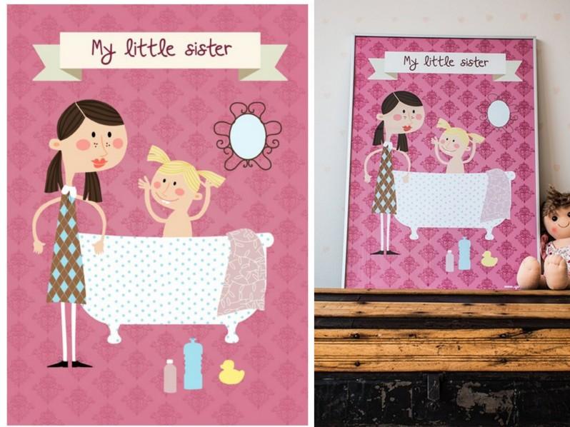 plakaty dziecięce sprinkles